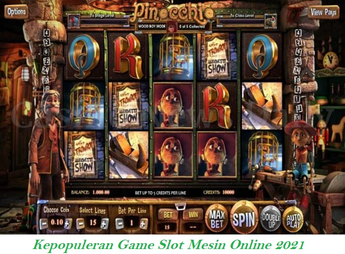 Kepopuleran Game Slot Mesin Online 2021
